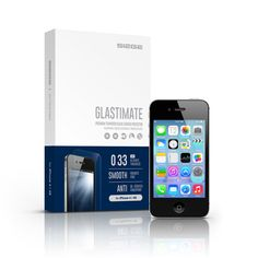 SIEGE - Glastimate Premium Tempered Glass Screen Protector for iPhone 4/4S