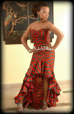 ♥African Fashion... Check Out Latest Ankara Styles and Dresses >>> http://www.dezangozone.com/2016/03/check-out-this-lovely-style-for-ladies.html