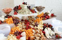 Gourmet Cheese Display Gourmet catering gallery