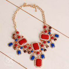 Ruby Jewel Necklace