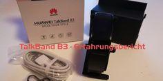 Huawei TalkBand B3 – Erfahrungsbericht #Test #Testberichte #Wearable