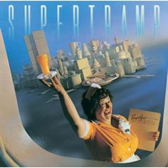 Breakfast in America - Supertramp Album Cover Iconic Album Covers, Greatest Album Covers, Rock Album Covers, Classic Album Covers, Music Album Covers, Logic Album Cover, Cover Art, Lp Cover, Cover Pics