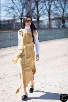 Paris Fashion Week FW 2015 Street Style: Gilda Ambrosio