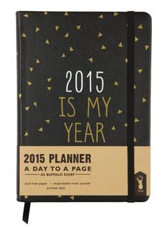 honey and fizz: Getting Organised - my favourite calendars/diaries/notebooks for 2015