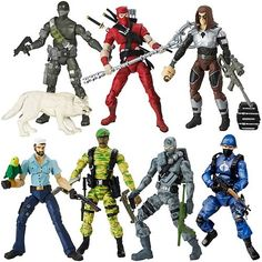 Snake Eyes, Jinx, Zartan, ShipWreck, Stalker, Firefly, cobra Viper, I would be a rich man if I had all of these guys ( and the twenty or thirty more we had) were still in my possession
