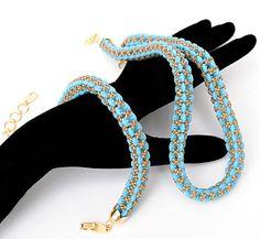 Super Duo Platz Seil. Perlen-Tutorial. von Olgaterranova auf Etsy