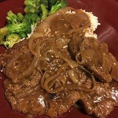Caramelized sweet onions enhance the flavor of thinly sliced, quickly sauteed liver. Add crisply fried bacon bits for variation. Ox Liver Recipe, Beef Liver And Onions Recipe, Chicken Liver Recipes, Onion Recipes, Beef Recipes, Cooking Recipes, Recipies, Lunch Recipes, Dinner Recipes