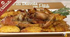 Pollo alla Diavola con Patate | la ricetta di Benedetta Parodi