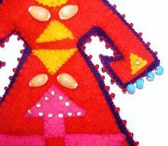 elibelinde/handmade felt by elibelindeart on Etsy, $75.00