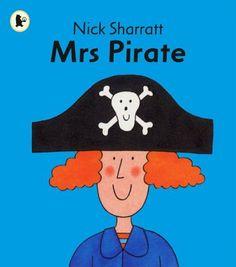 Mrs Pirate (Read Me Beginners Series) by Nick Sharratt, http://www.amazon.co.uk/dp/1406309885/ref=cm_sw_r_pi_dp_eKqorb0AMHSJF