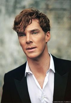 Benedict Cumberbatch, if you don't know who he is you're missing out in life.