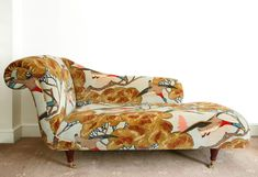 Mulberry Flying Ducks Chaise