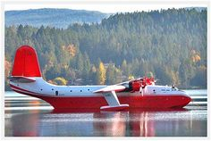 Martin Mars Water Bomber,Sproat Lake
