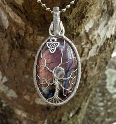 Tree of Life Pendant covering Beautiful by TheSleepyFirefly, $64.95
