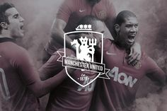 Manchester United // Redesign by Markus Tallaksen Halvorsen, via Behance