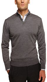 The Grey Beck Henley Sweater