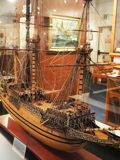 100-gun Sovereign of the Seas that cost King Charles I his head because of its gross extravagance commissioned 1637 CE | by mharrsch
