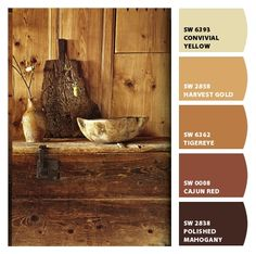 Instantly turn any picture into a palette with ColorSnap, created for you by Sherwin-Williams. Room Colors, Wall Colors, House Colors, Brown Paint Colors, Paint Color Schemes, Interior Paint Colors, Paint Colors For Home, Tuscan Paint Colors, Southwest Decor
