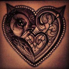 owl tattoos 13