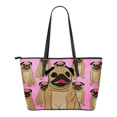Pug Lover 4 Lg Bag