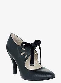 TORRID.COM - Cutout Tie-Front Heels (Wide Width)
