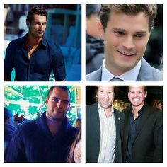 David Gandy, Jamie Dornan, Henry Cavill, David Duchovny and David Boreanaz - all favorites