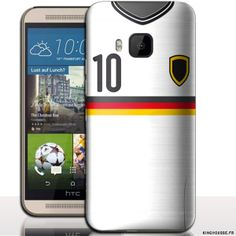 Coque HTC ONE M9 Motif Maillot Equipe Allemagne. #Germany #Football #Allemagne #M9 #HTC #Coque