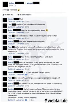 Was man nicht alles über seine Freunde bei Facebook erfährt...