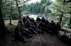 The Revenant - Behind the scenes The Revenant, Tom Hardy, Behind The Scenes, Hiking Boots, Toms