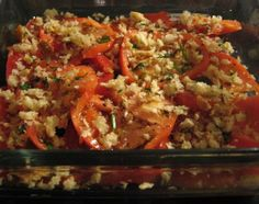 Tomato Red Onion Bake: Sounds delicious, I'd like to try this someday #healthy #recipes