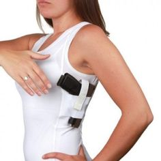 UnderTech Undercover Concealment Womens Tank Shirts conceal carry for women... kinda cool