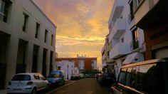 CANARIAS  FOTOS   Canary Islands Photos: Amanecer visto desde la Calle San Roque en Puerto ...