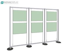 Freestyle Display Stands - Multi-Section Units