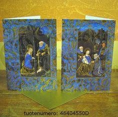 Jeesuksen syntymä, sininen/kulta Kulta