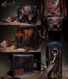 Custom ordered shoulder bag by Aetherwerk on DeviantArt