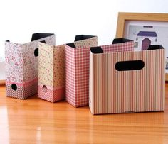Flower DIY Hot Makeup Cosmetic Stationery Paper Board Storage Box Desk Organizer