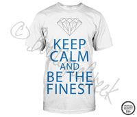 Alpha Delta Pi Keep Calm Tee - ΑΔΠ Collection. Design Exclusive to BoutiqueGreek.com