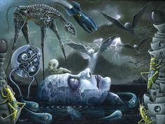 """""""DREAMS & NIGHTMARES"""" by Robert S. Connett 2010"""