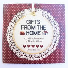 Items similar to Gifts from the Home. A South African Book of Ideas for Giving by Anika Pretorius. Struik Publishers, 1988 on Etsy Antique Books, Vintage Books, Little Girl Pictures, Vintage Jewelry Crafts, Cross Stitch Heart, Beeswax Candles, How To Make Paper, Book Crafts, Cross Stitch Patterns