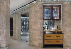 Discover the luxury of your own private stock year-round with the top 80 best wine cellar ideas. Explore rustic to modern home vino room designs. Home Bar Rooms, Home Bar Areas, Alcohol Storage, Wine Cellar Basement, Home Wine Cellars, Wine Cellar Design, Cellar Ideas, Built Ins, My House