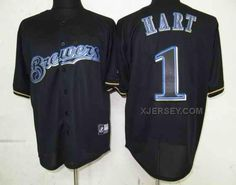http://www.xjersey.com/brewers-1-hart-black-fashion-jerseys.html Only$34.00 BREWERS 1 HART BLACK FASHION JERSEYS Free Shipping!