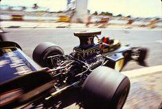 Emerson Fittipaldi & the Lotus 72.