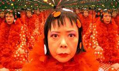 Yayoi Kusama does Linda Scott