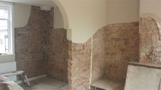 H is for Hygroscopic Salts and Replastering a Damp Wall