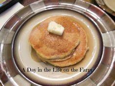 A Day in the Life on the Farm: Pumpkin Praline Pancakes, Day 2, #Pumpkin Week