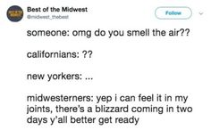 30 Buttery Memes About The Midwest That Are Completely Spot On - We share because we care. A resource for sharing the latest memes, jokes and real stuff about parenting, relationships, food, and recipes Funny Cute, The Funny, Hilarious, Dc Memes, Funny Texts, I Laughed, Laughter, Funny Pictures, Jokes