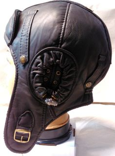 WWII Vintage style Handmade Genuine Leather Pilot by leatherhat, $40.00