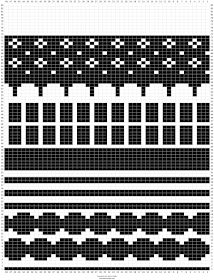 Handmade in Finland.: Mustavalkoiset Marimekko-villasukat. Knitting Charts, Knitting Socks, Textile Patterns, Knitting Patterns, Floral Patterns, African Textiles, Japanese Patterns, Marimekko, Textile Artists