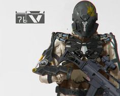 Kraut Space Magic — crassetination: Various Cyber Soldiers 132