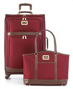 Jessica  Simpson Luggage, (cheetah print interior)